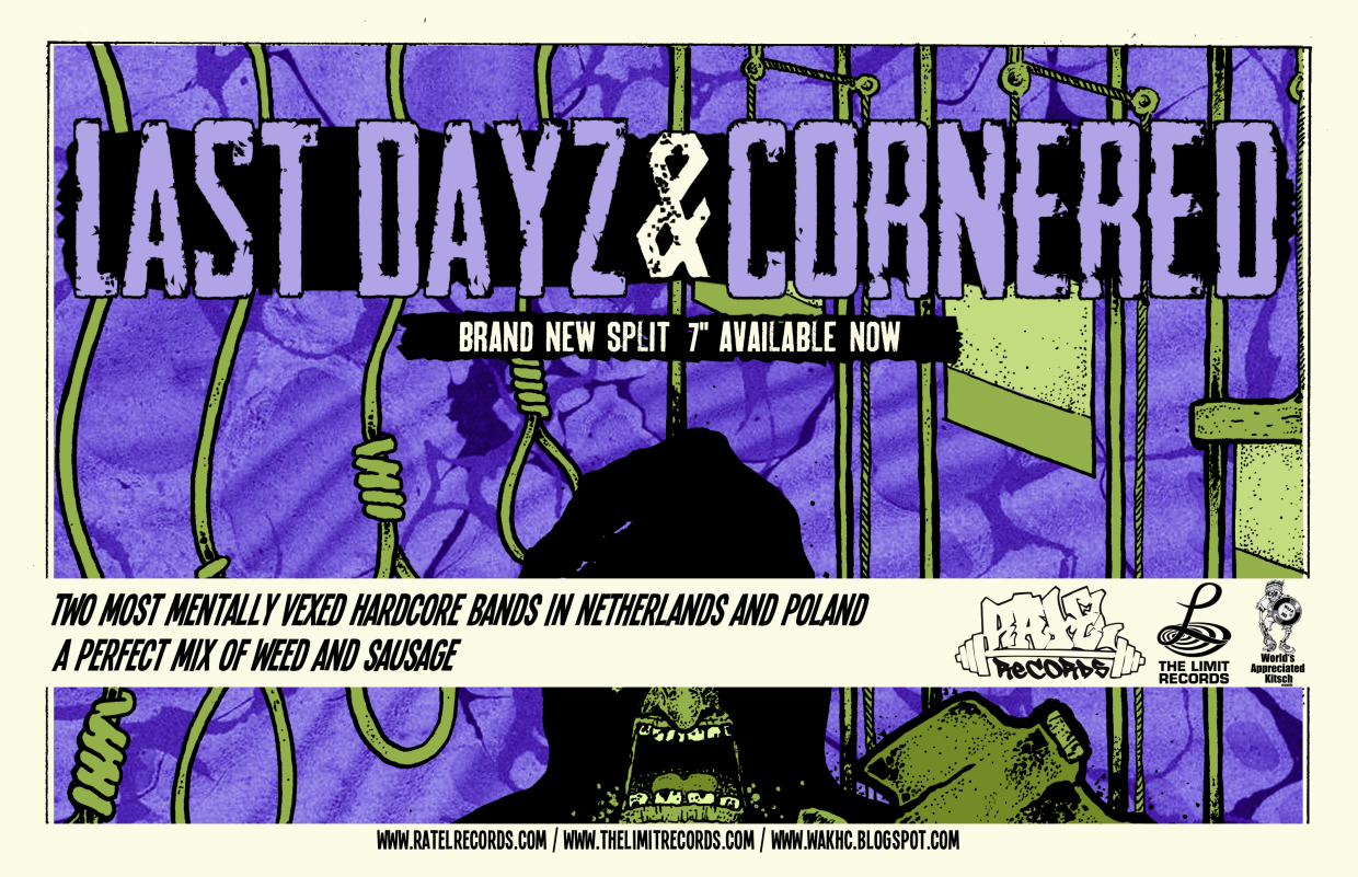 Cornered / Last Dayz - Split EP